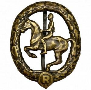 Germany, Bronze equestrian badge