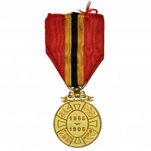 Belgium, King Leopold II Commemorative Medal