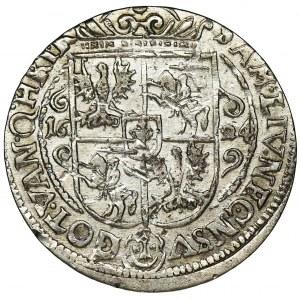 Sigismund III Vasa, 1/4 Thaler Bromberg 1624 - PRVS M