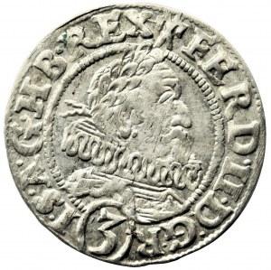 Silesia, Ferdinand II, 3 Kreuzer Breslau 1628 HR - abbreviated date