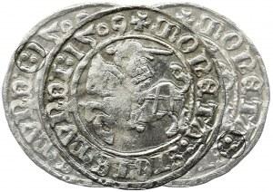 Sigismund I the Old, Half Groschen Vilnius 1509 - VERY RARE