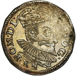 Zygmunt III Waza, Trojak Poznań 1596