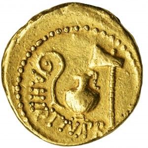 Roman Republic, Julius Caesar and Aulus Hirtius, Aureus