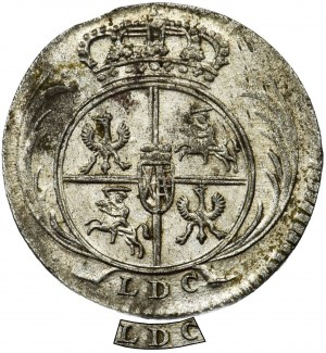 Augustus III of Poland, 1/24 Thaler Leipzig 1754 L / LDC