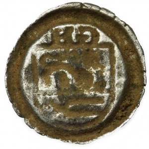 Germany, County of Schwarzburg, Günther XXXIX and Heinrich XXXI, Hohlpfennig Arnstadt 1493-1526 - UNLISTED, RARE