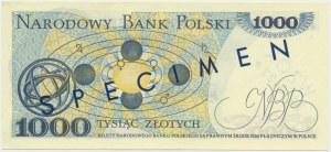 1.000 złotych 1975 - WZÓR - A 0000000 No. 0422