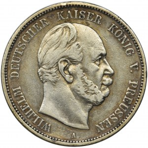 Germany, Kingdom of Prussia, Wilhelm I, 5 mark Berlin 1874 A