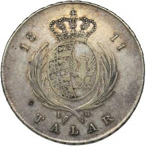 Księstwo Warszawskie, Talar Warszawa 1811 IB