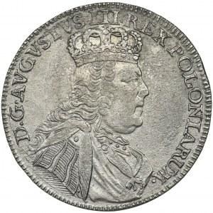 Augustus III of Poland, 1/4 Thaler Leipzig 1754 EC