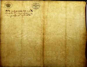 Królestwo Polskie, Dokument z pięknym, pełnym znakiem wodnym