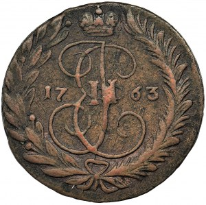 Russia, Catherine II, 2 Kopecks Moscow 1763 MM