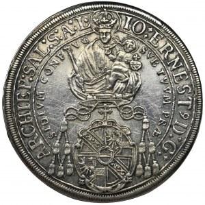 Austria, Archbishopric of Salzburg, Johann Ernest Reichsgraf Thun and Hohenstein, Thaler Salzburg 1692