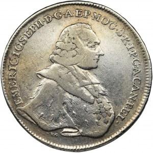 Germany, Mainz, Emeric Joseph, Thaler Mainz 1765