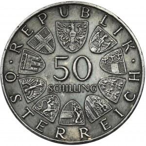 Austria, II Republic, 50 schillings Wien 1971