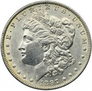 USA, 1 dollar Philadelphia 1897 - Morgan