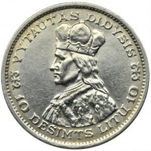 Litwa, Republika, 10 Litu Kowno 1936