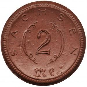 Germany, Saxony, 2 mark 1921