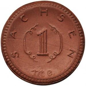 Germany, Saxony, 1 mark 1921
