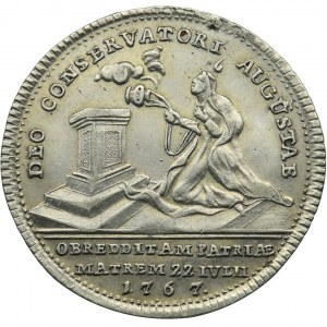 Austria, Maria Theresa, Memorial token 1767