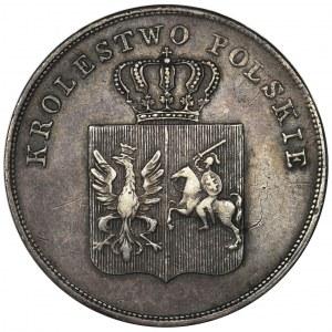 November Uprising, 5 zloty Warsaw 1831 KG