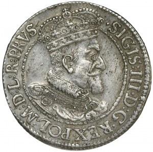 Sigismund III Vasa, 1/4 Thaler Danzig 1617 - PRVS•