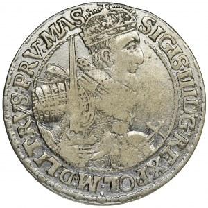 Sigismund III Vasa, 1/4 Thaler Bromberg 1621 - PRV MAS - RARE