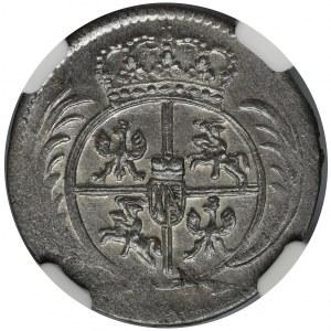 Augustus III of Poland, 1/24 Thaler Leipzig 1760 - NGC MS64