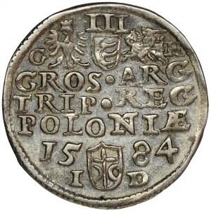Stephen Bathory, 3 Groschen Olkusz 1584 - RARE