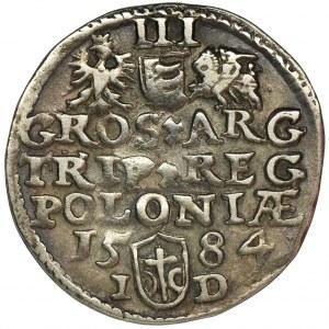 Stephen Bathory, 3 Groschen Olkusz 1584