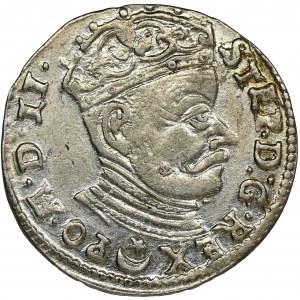 Stephen Bathory, 3 Groschen Vilnius 1582 - LI/LIT