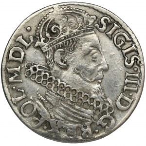 Sigismund III Vasa, 3 Groschen Krakau 1618 - SIGIS
