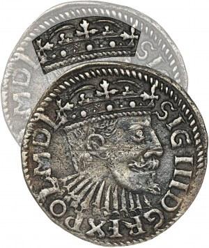 Zygmunt III Waza, Trojak Bydgoszcz 1595 - POLNI - BARDZO RZADKI