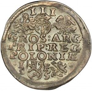 Sigismund III Vasa, 3 Groschen Lublin 1595