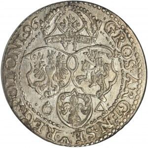 Sigismund III Vasa, 6 Groschen Marienburg 1596