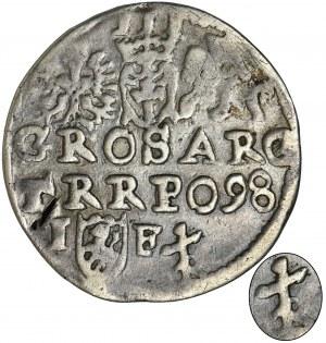 Sigismund III Vasa, 3 Groschen Lublin 1598 - RARE