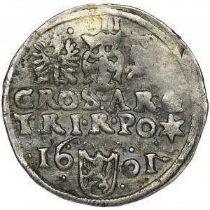 Sigismund III Vasa, 3 Groschen Wschowa 1601