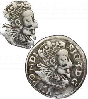Sigismund III Vasa, 3 Groschen Lublin 1596 - UNLISTED