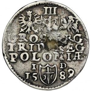 Zygmunt III Waza, Trojak Olkusz 1589