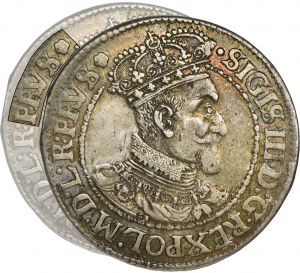 Sigismund III Vasa, 1/4 Thaler Danzig 1620 SB - RARE