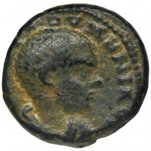 Roman Provincial, Caesarea, Maritima, Diadumenian, AE21 - RARE