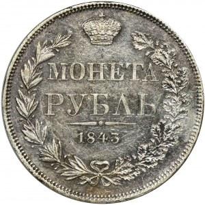Rouble Warsaw 1843 MW