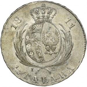 Księstwo Warszawskie, 1/3 Talara Warszawa (dwuzłotówka) 1811 IS