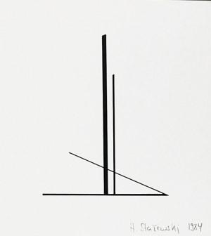 Henryk STAŻEWSKI (1894-1988), Bez tytułu, 1984
