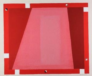 Jerzy NOWOSIELSKI (1923-2011), Abstrakcja czerwona, 1995