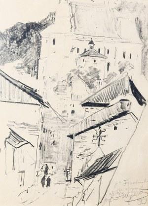 Leon WYCZÓŁKOWSKI (1852-1936), Kazimierz nad Wisłą, 1919