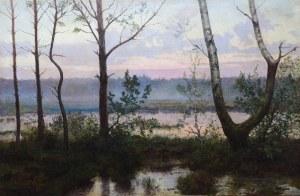 Józef RAPACKI (1871-1929), Pejzaż nadwodny, 1912