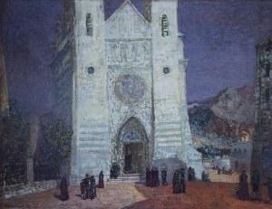 Konstanty MACKIEWICZ (1894-1985), Hiszpania - Przed katedrą; z cyklu: Katedry