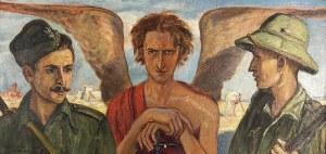 Wlastimil HOFMAN (1881-1970), Anioł Sprawiedliwości, 1942