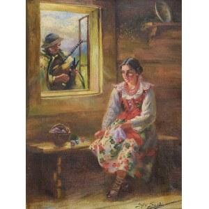 Sylweriusz SASKI (1863-1954), Góralskie zaloty