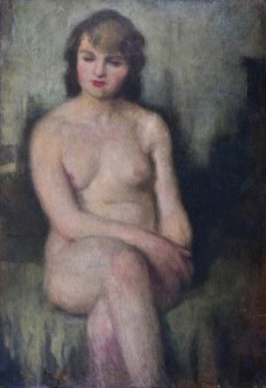 Alfons KARPIŃSKI (1875-1961), Akt kobiety, 1924